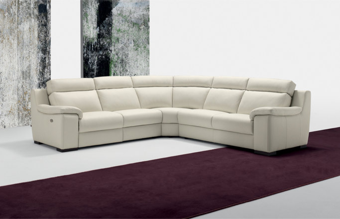 Vannozzi Interni Polodivani Giunone sofa made in italy