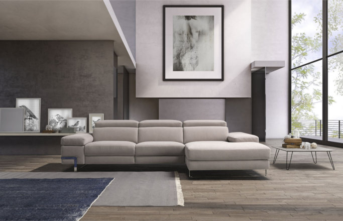 Vannozzi Interni Polodivani Livio sofa made in italy
