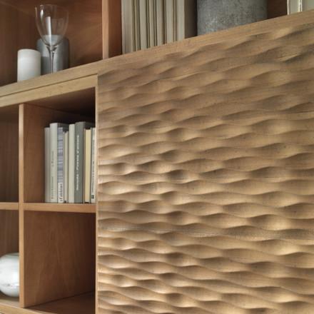 Vannozzi Interni dettaglio mobile soggiorno Zen Passione Casa